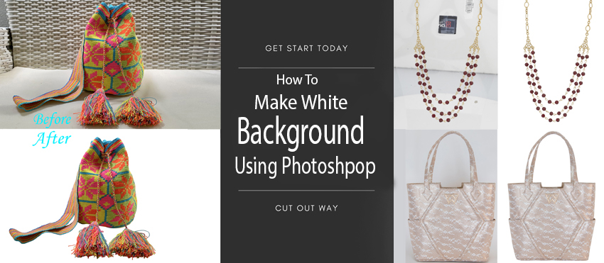 how to make white background in photoshop
